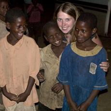 Charlotte Southern in Uganda